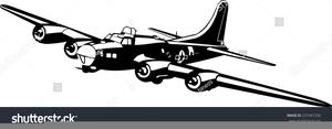 Clipart B Bomber.