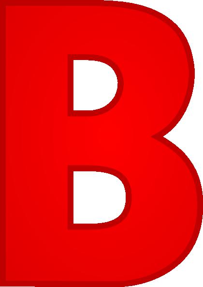 Letter B Clip Art at Clker.com.