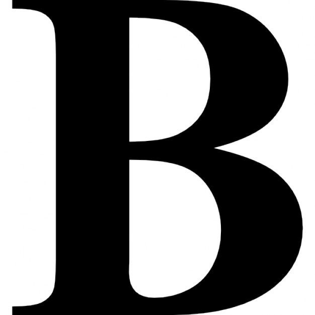 Letter B with Crown Logo.