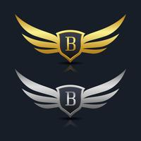 B Logo Free Vector Art.