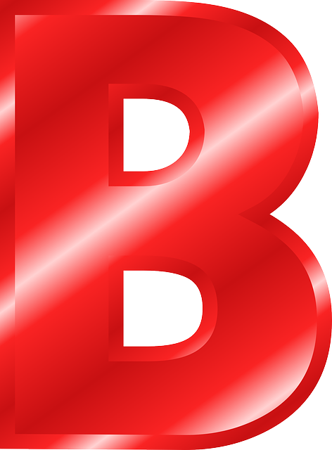 Letter B PNG images free download.