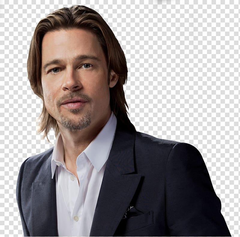 Brad Pitt transparent background PNG clipart.
