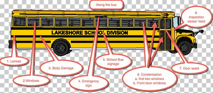 School Bus Safety School bus crossing arm, oil paper fan PNG.
