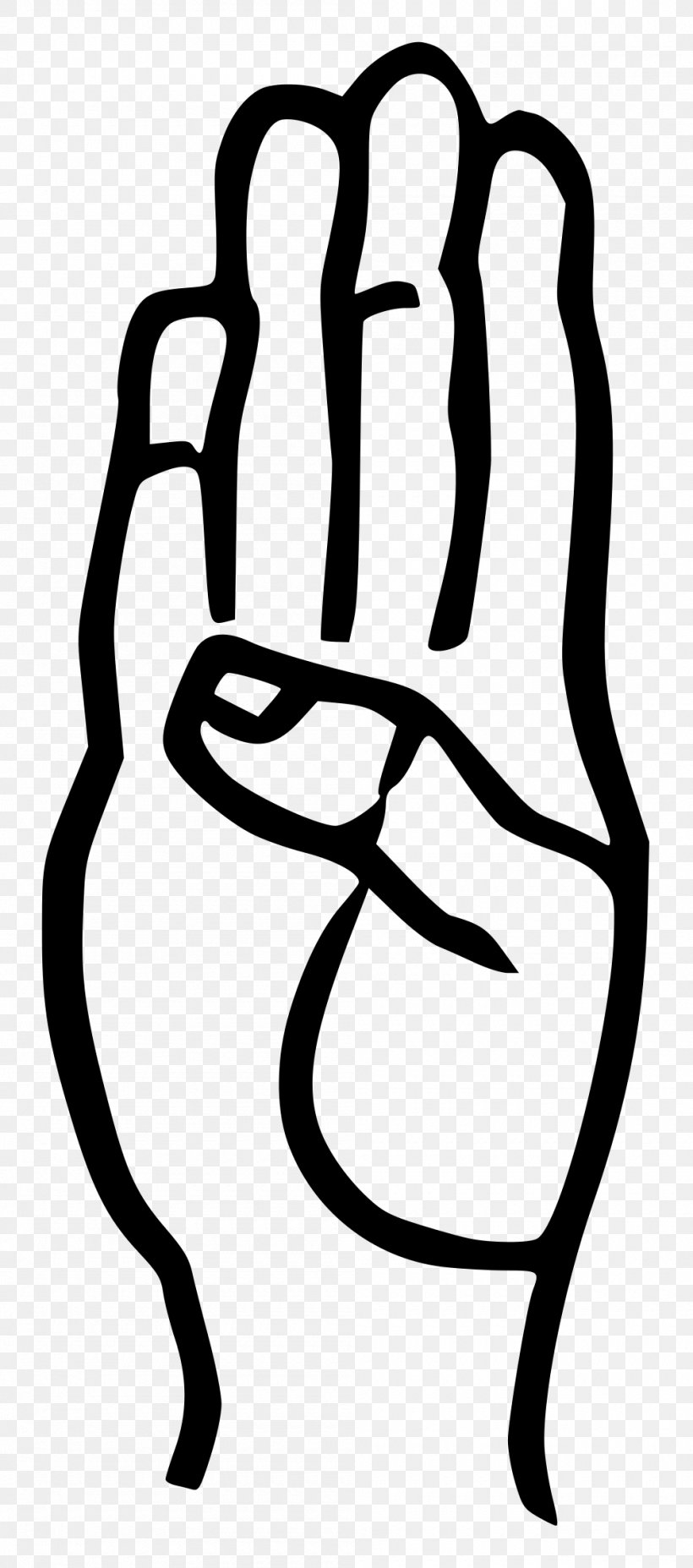 American Sign Language Letter B, PNG, 1000x2263px, American.