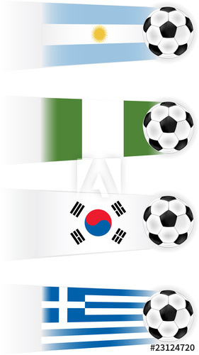 Soccer World Cup Group B Teams clipart (other groups.