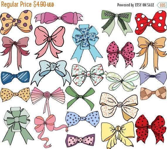 Bows clip art: \