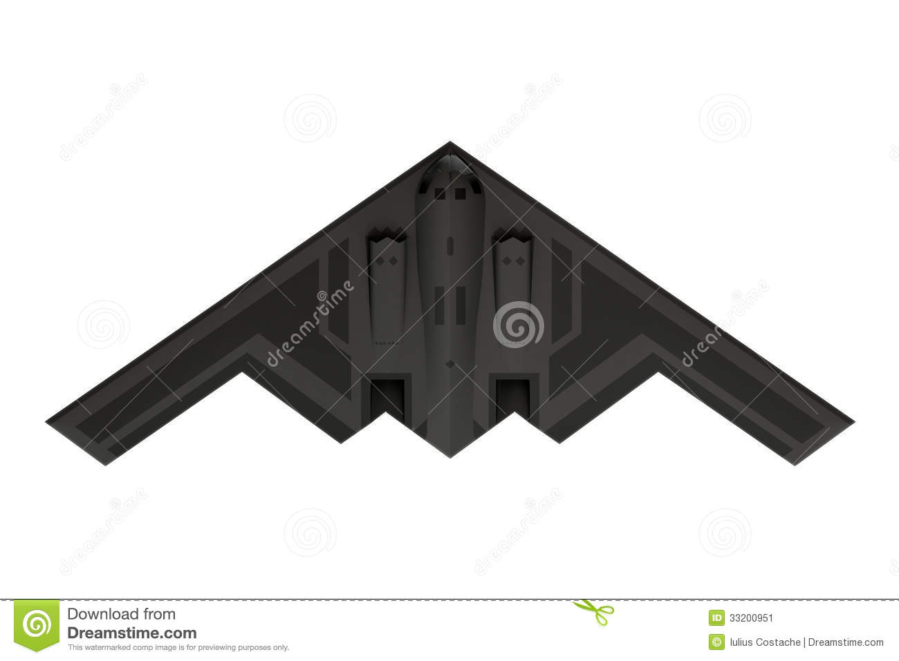 Stealth bomber clipart #10