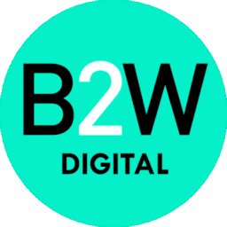 B2w logo download free clipart with a transparent background.