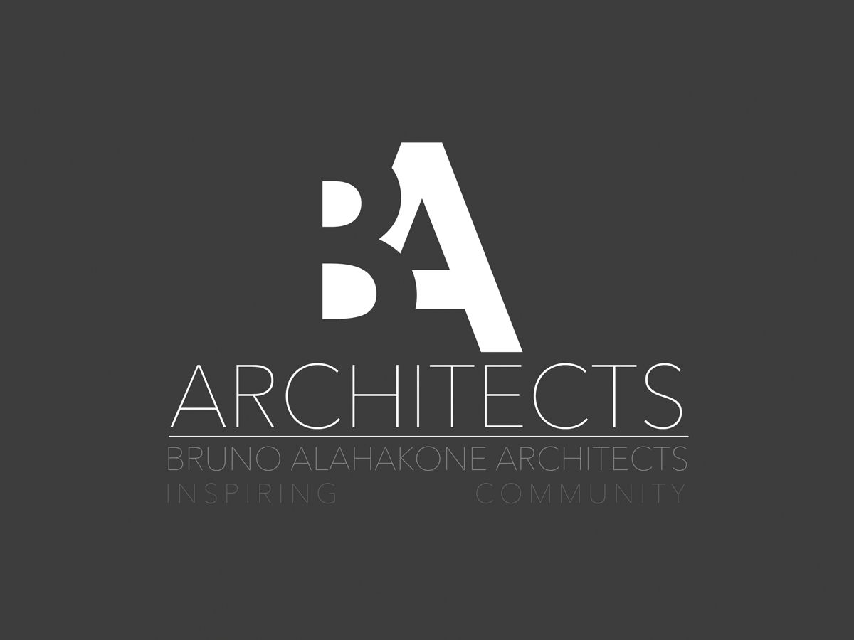 Check out this Logo Design for BA Architects.