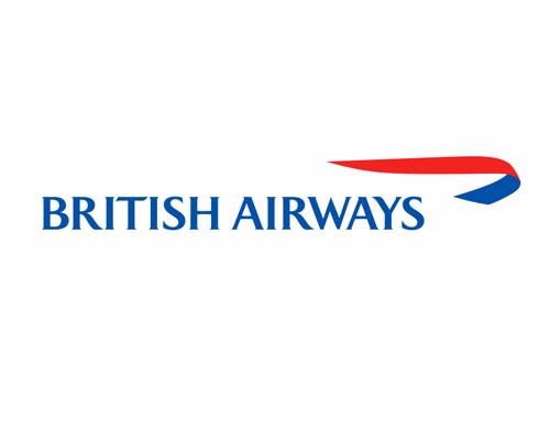British Airways logo evolution.