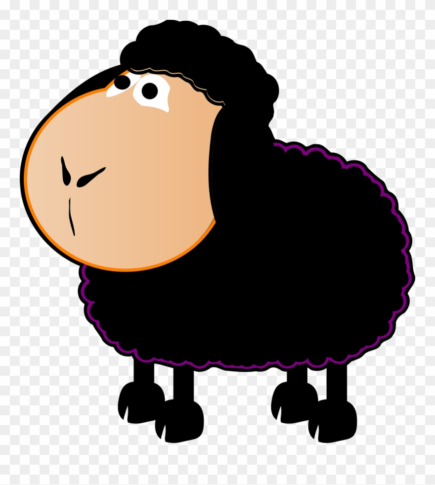 Permalink To Black Sheep Clipart.