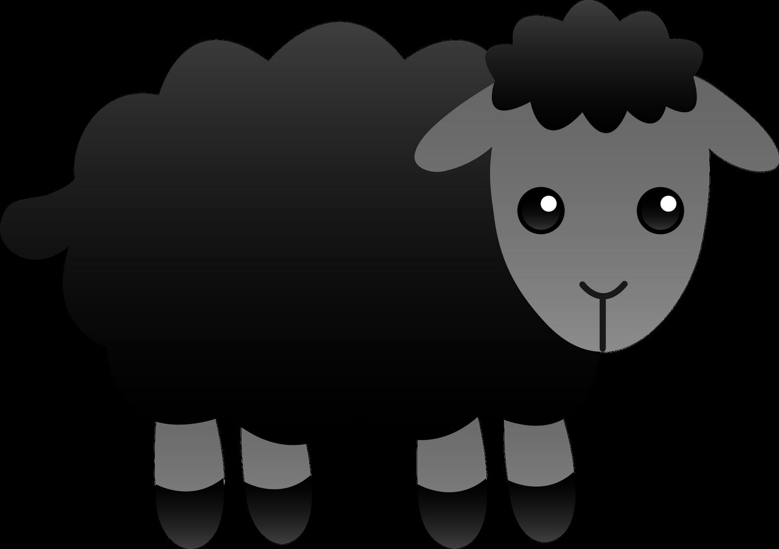 Baa baa black sheep clip art.