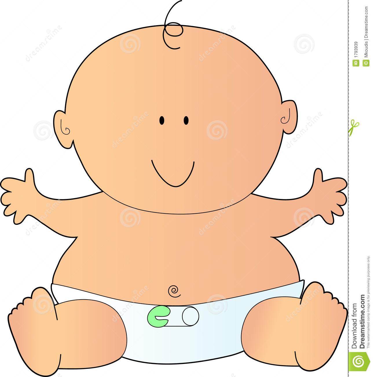 Newborn baby clipart.