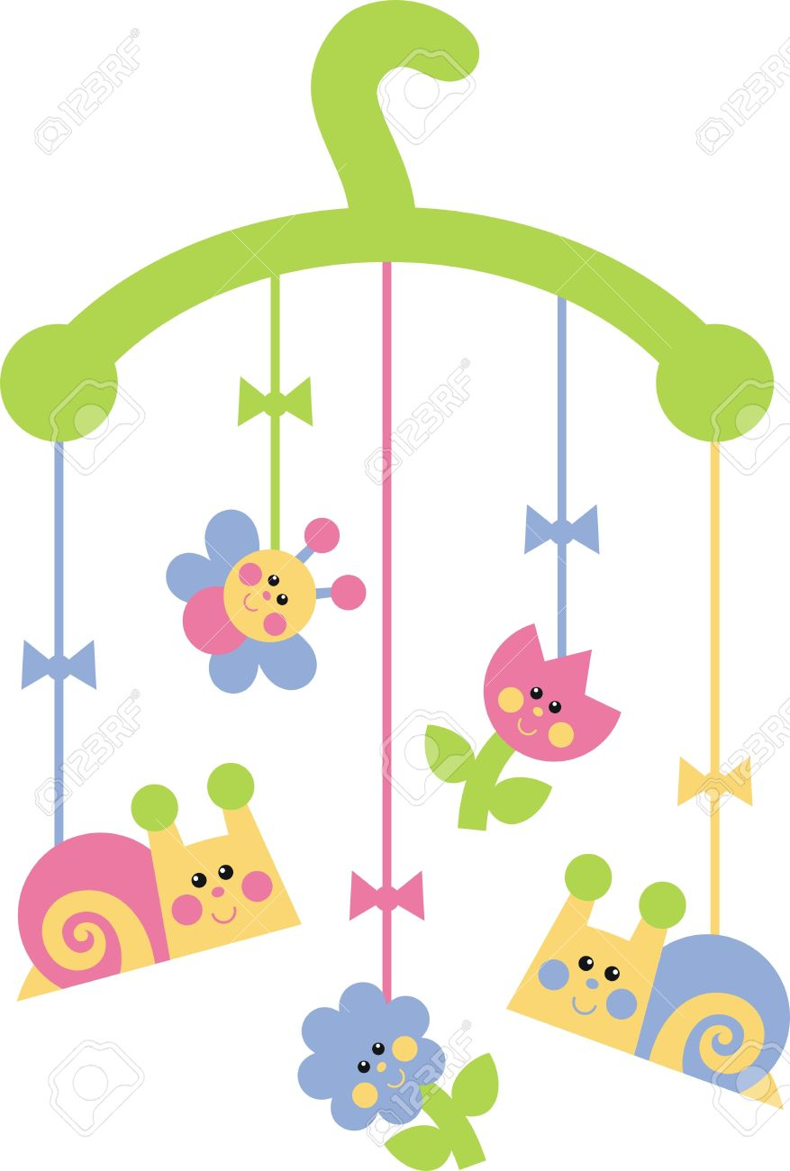 Baby Mobile Clipart.