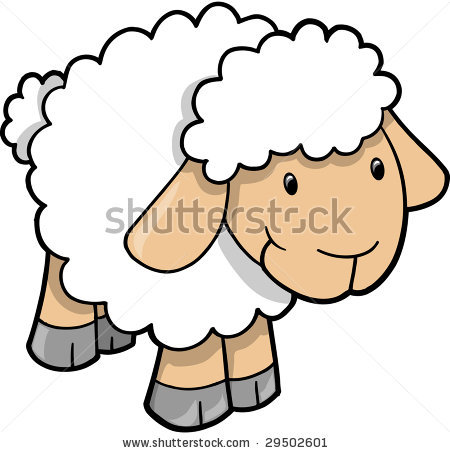 Baa Baa Black Sheep Clipart.