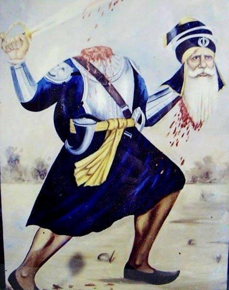 Baba deep singh ji wallpapers.