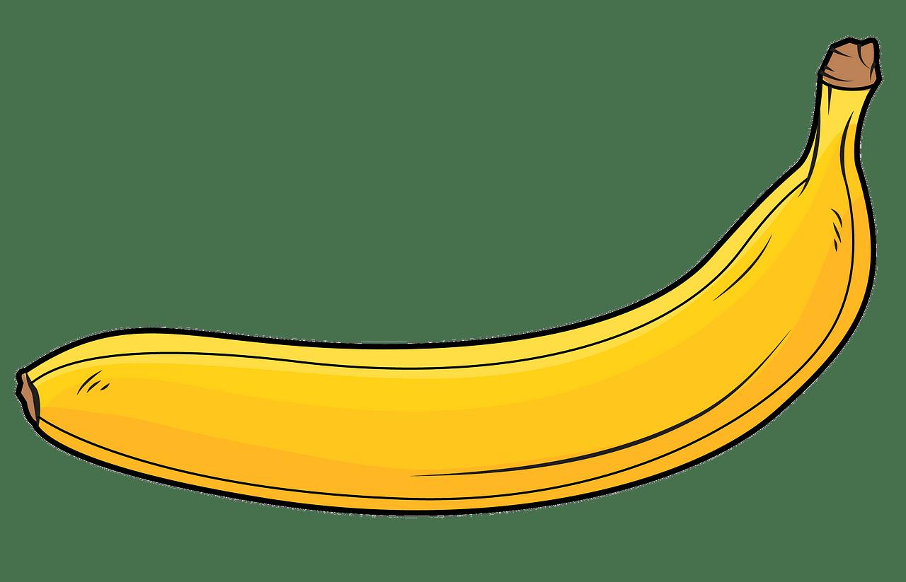 Banana clipart. Free download..