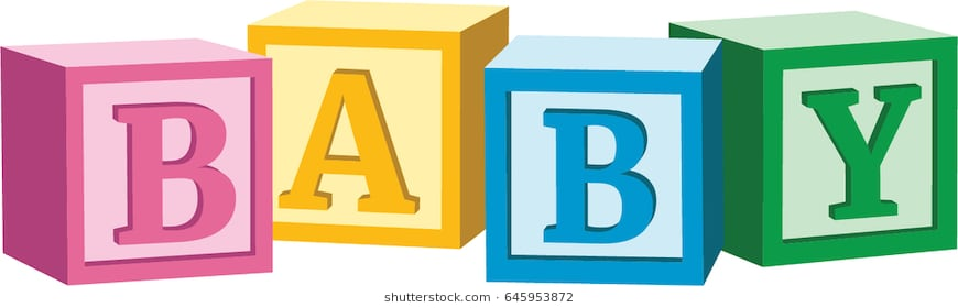 Baby building blocks clipart » Clipart Station.