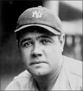 Babe Ruth Clipart Who was He? sports theme.