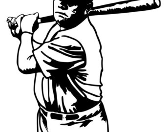 Download Free png Babe Ruth Drawing.
