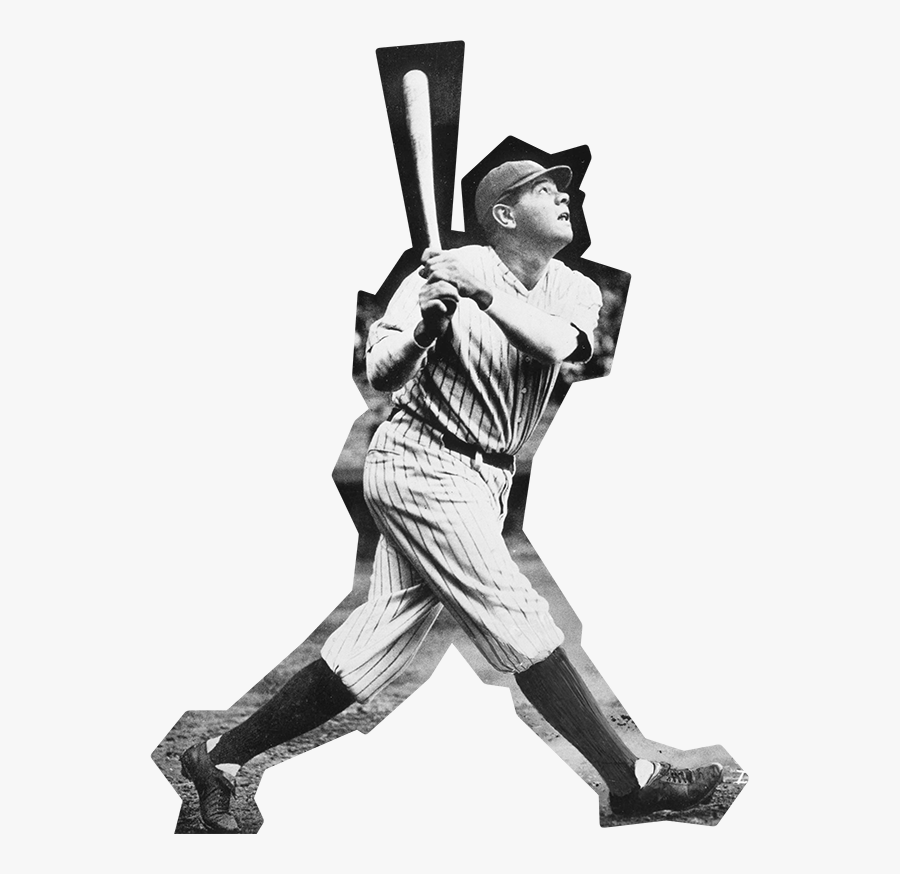 Transparent Babe Ruth Png.