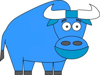 Babe the blue ox paper craft.