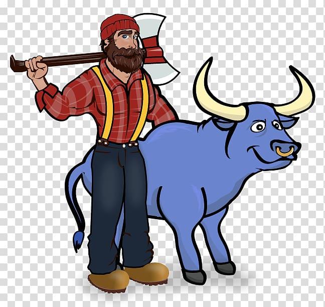 Paul Bunyan and Babe the Blue Ox Paul Bunyan State Trail.
