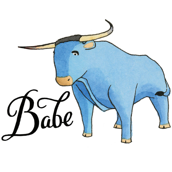 78 Painless Babe The Blue Ox Baby How To Draw.