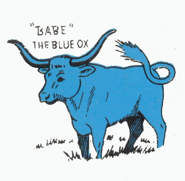 Babe the blue ox.