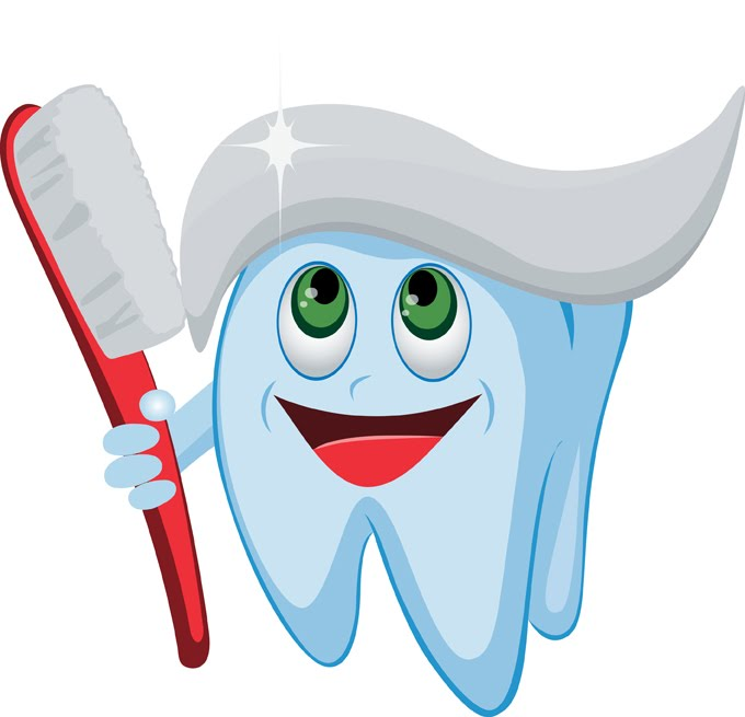 First tooth clipart.