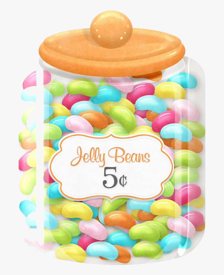 Jar Of Candy Clipart Jelly Beans Free Transparent Png.