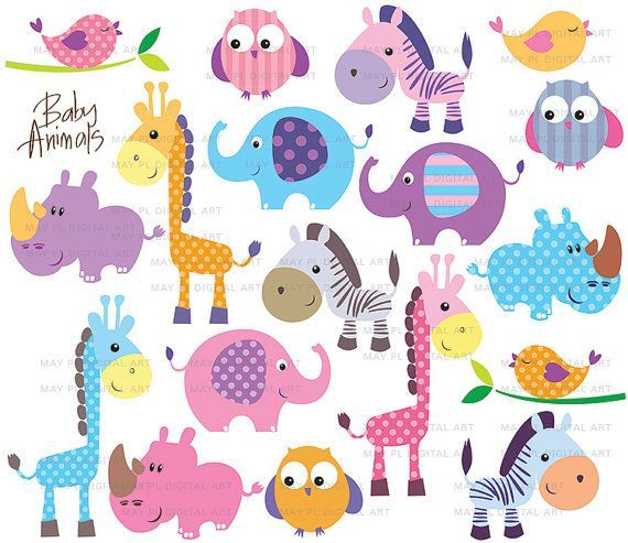 Free download Cute Animals Free Clipart for your creation..