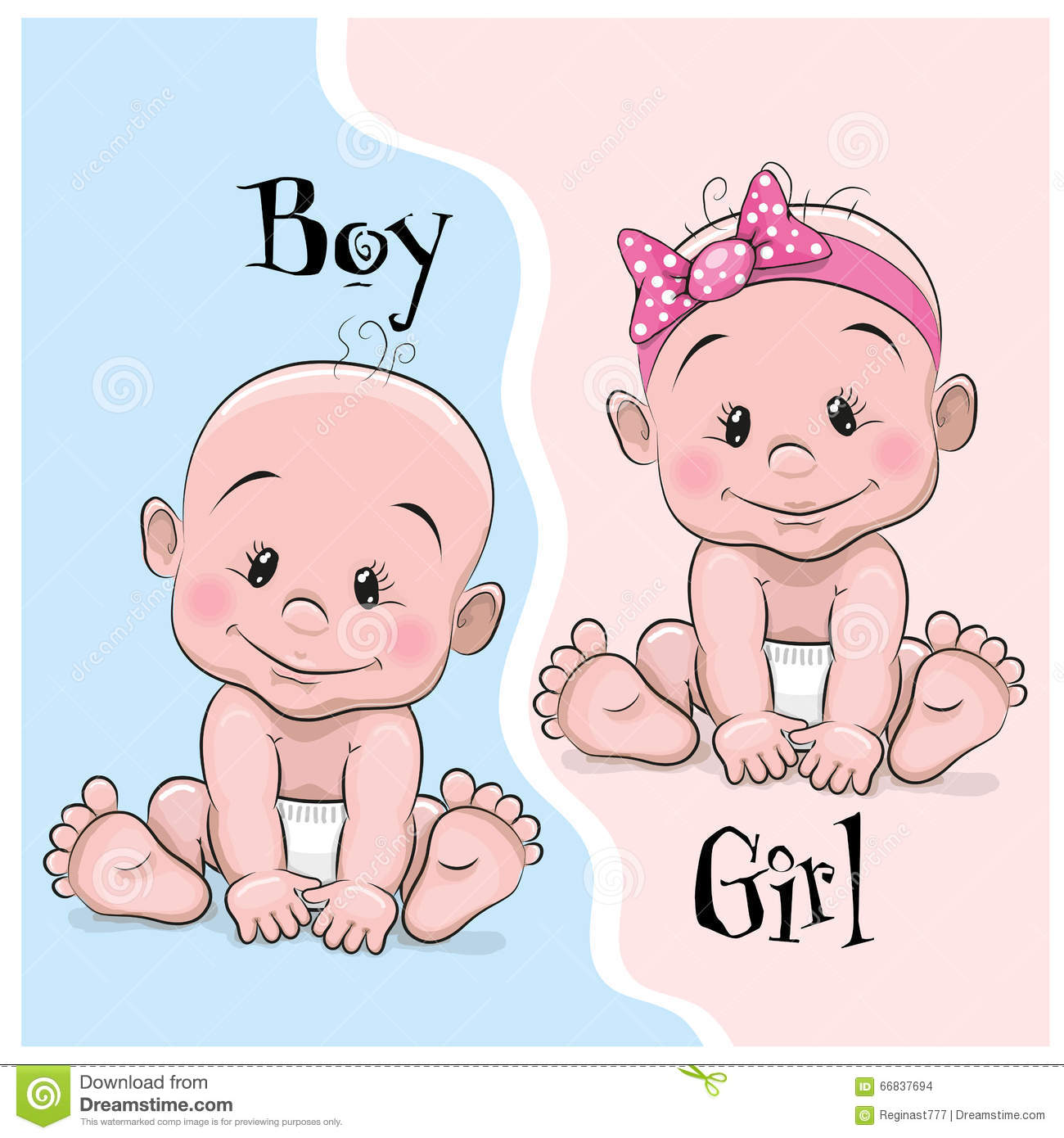 Baby Boy Or Girl Clipart.