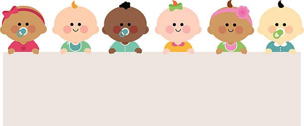 Best Newborn Baby Illustrations, Royalty.