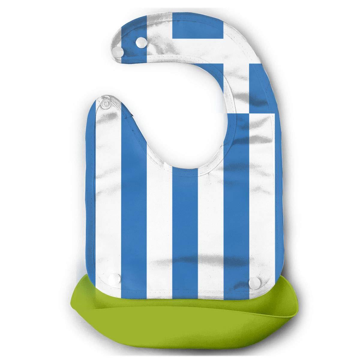 Amazon.com: Greece Greek Flag Baby Silicone Adjustable Bibs.