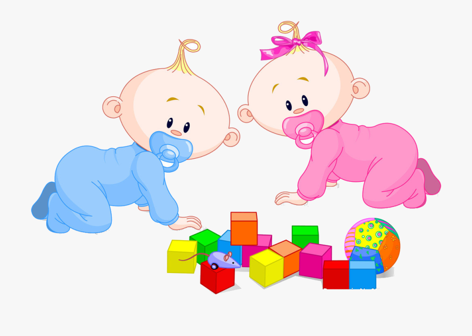 Baby Boy Toys Clipart.