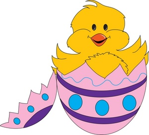 13100 Easter free clipart.