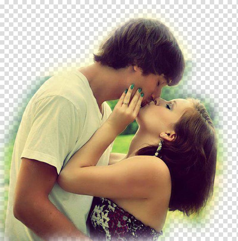 Baby kissing Romance Love Hug, couple transparent background.