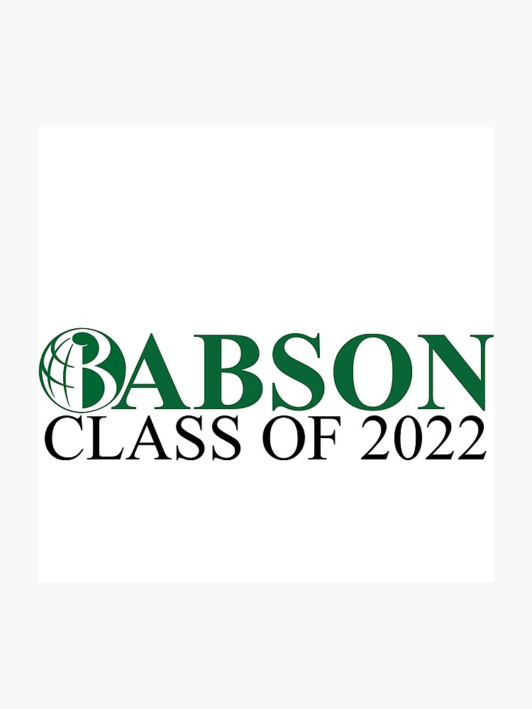 Babson College Class of 2022.
