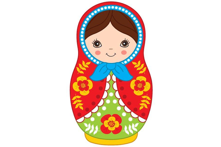 Vector Matryoshka, Russian Doll.