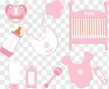 Baby Products cutout PNG & clipart images.