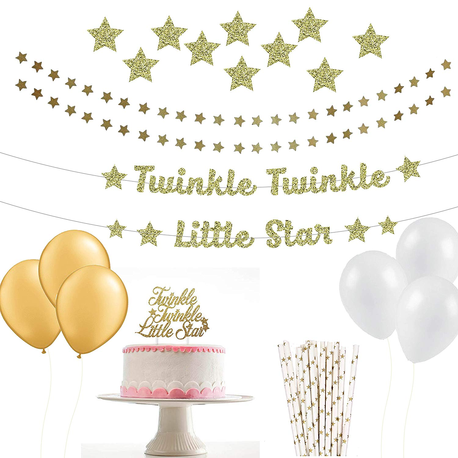 Twinkle Twinkle Little Star Party Package (Without Advice Cards).