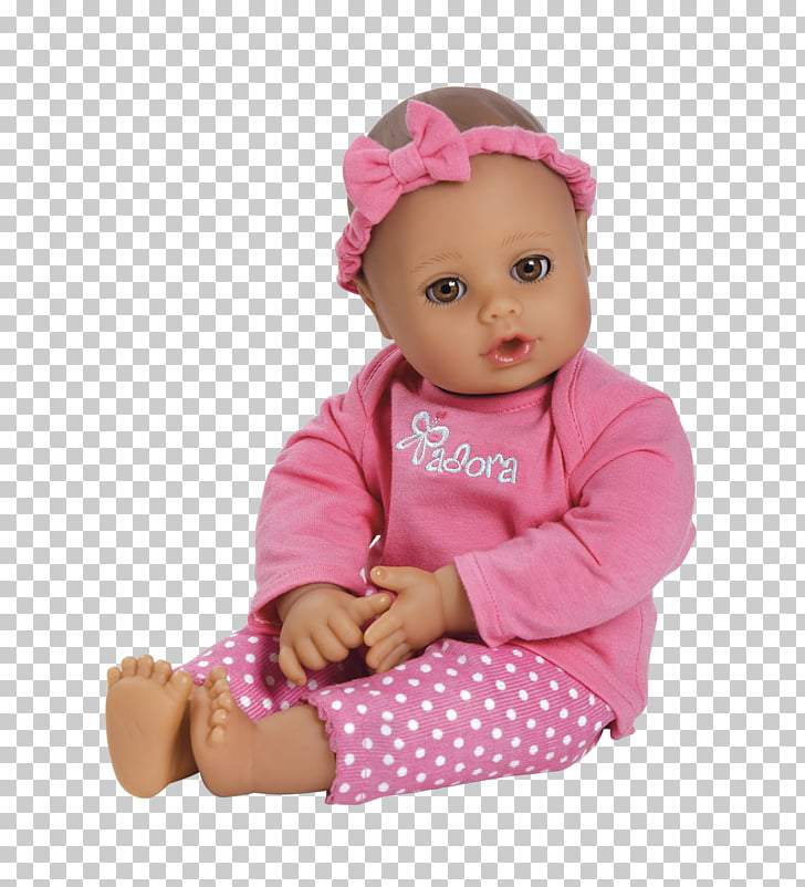 Doll Infant Adora PlayTime Baby Baby Alive Child, doll PNG.
