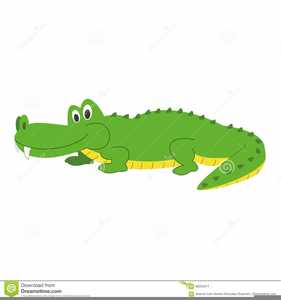Free Baby Alligator Clipart.
