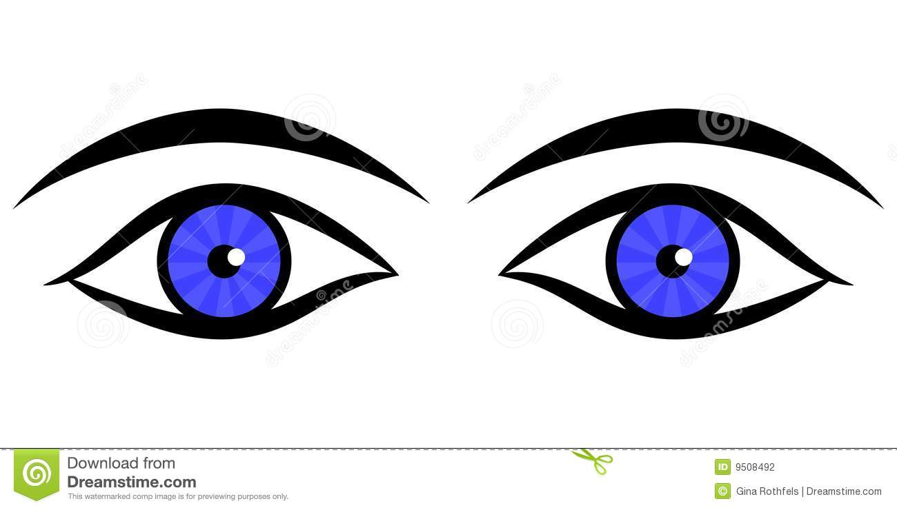 Human Eyes Clipart For Kids.