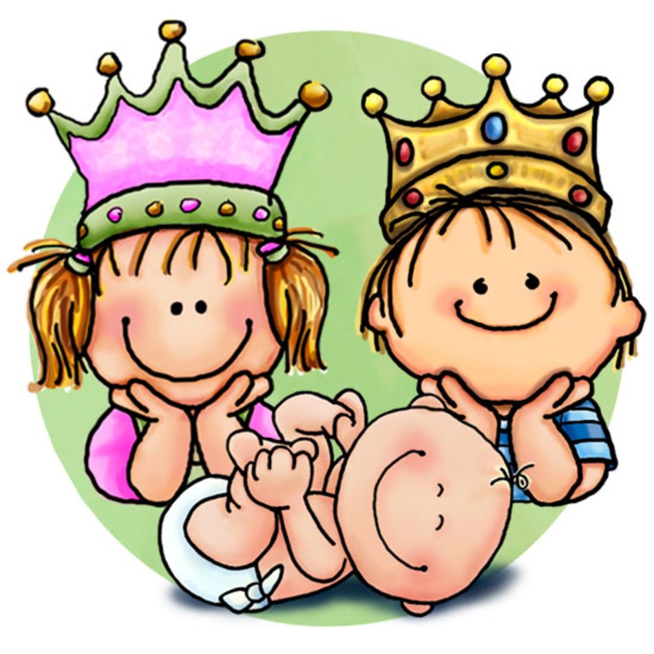 Big Brother Baby Sister Clip Art free image.
