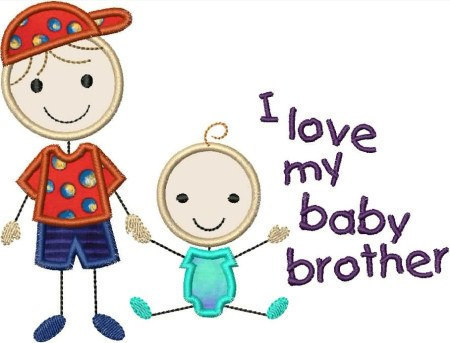 Brother clipart baby brother, Brother baby brother.
