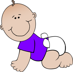 Baby And Toddler Clipart.