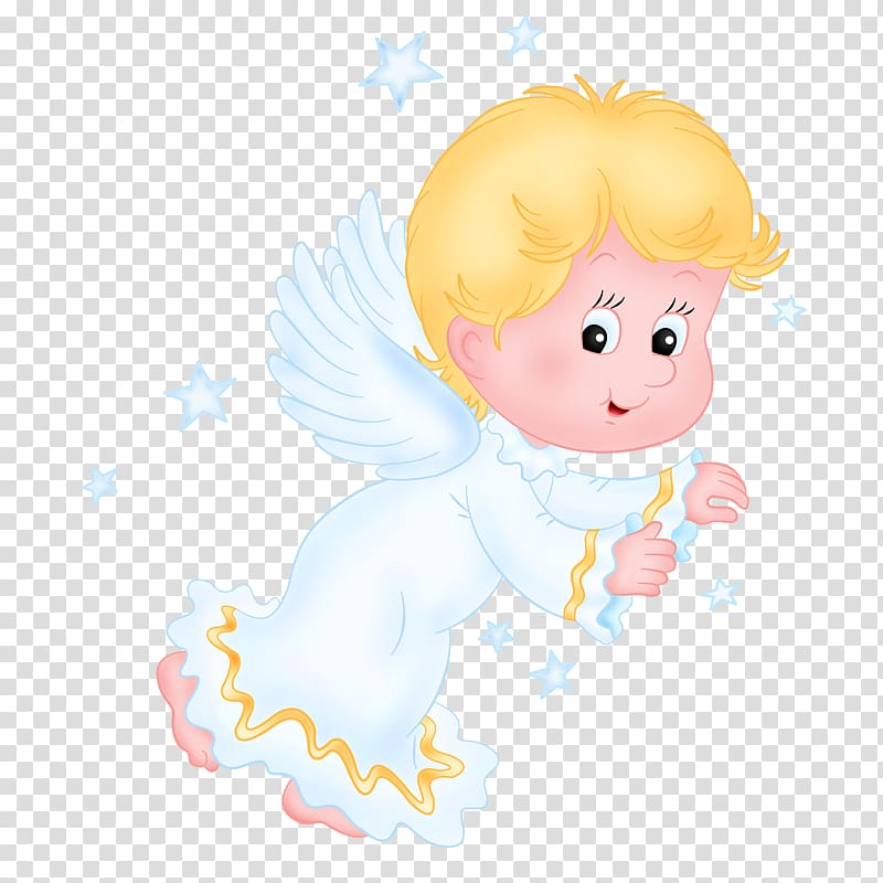 Angel Infant Child , Angel Baby transparent background PNG.
