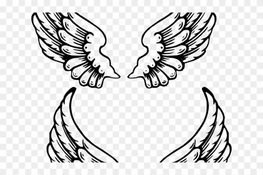 Drawn Wings Baby Angel.